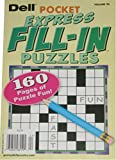 Dell Pocket Express Fill-In Puzzles: Volume 24 (July 2014)