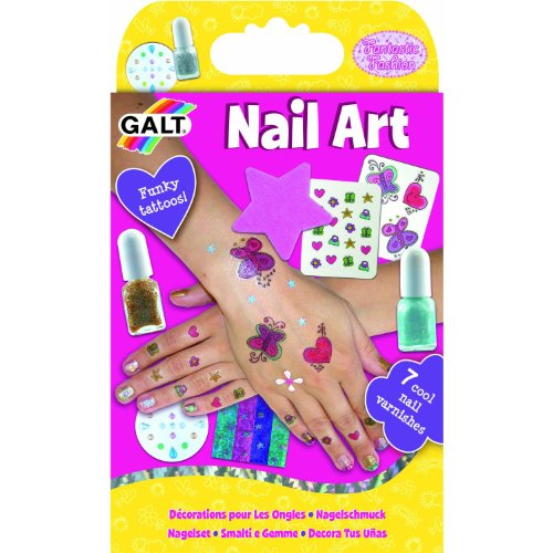 Galt Toys Glitter, Tattoo and Gem Nail Art