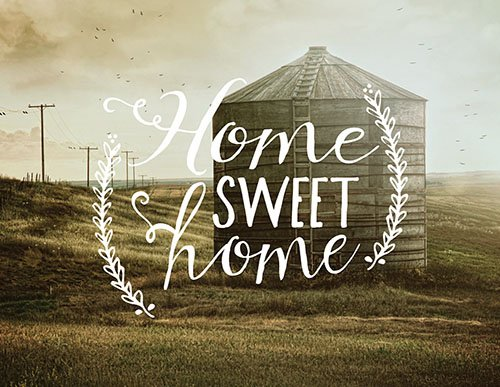 Jada Venia Light Box Insert &Quot;home Sweet Home