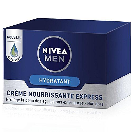 Nivea Men Crème Nourrissante Express 50 ml - Lot de 2
