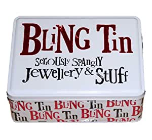 Gifts for Women - Bling Tin - seriously spangly jewellery and stuff - ideal gift for her