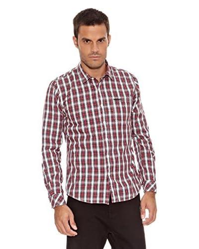 New Caro Camicia Uomo Gabriel [Rosso]