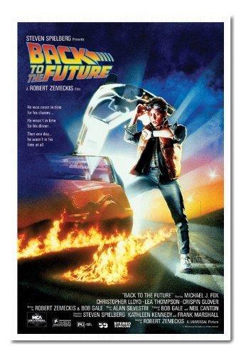 Back To The Future poster sughero Pin Lavagnetta Bianco Con cornice-96.5x 66cms (circa 96,5x 66cm)