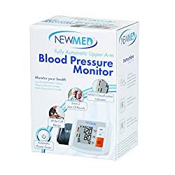 Newmed Upper Arm Blood Pressure Monitor - Battery Operated - LCD display - Fully Automatic - Easy to read