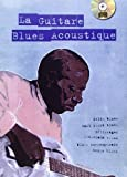 Lelong Michel La Guitare Blues Acoustique Guitar Tab Book/Cd French