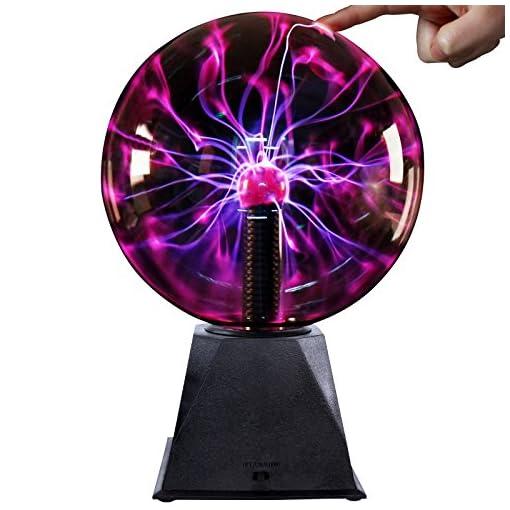 Jago-Plasmaball-faszinierende-Lichtspiele-mit-205-cm-Durchmesser-und-blau-violetten-Strahlen