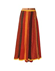 Sttoffa Womens Cotton Skirts -Multi-Colour -Free Size - B00MJO82S2