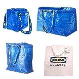IKEA(イケア) バッグ 4点セット BRATTBY / FRAKTA / KLAMBY