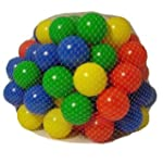 100 Multi Coloured Play Balls