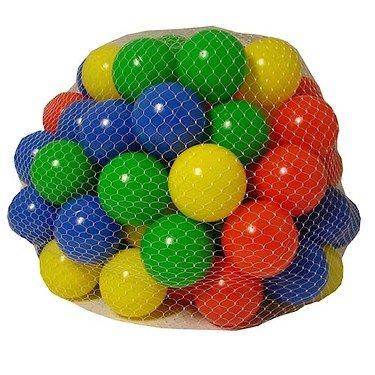 Grossman - Set di 100 palline da gioco colorate