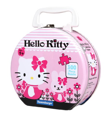 51LilGIC7WL Reviews Hello Kitty: Playing with Purses   300 Piece Puzzle in a Tin
