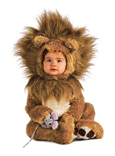 Rubie's Costume Co Unisex-baby Infant Noah Ark Lion Cub Romper, Brown/Beige