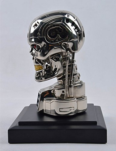 Gmasking Terminator 2 T800 Endoskeleton Skull Head Statue Scale 1:2 Replica 1 1 scale life size scale prop hellboy right hand of doom replica new