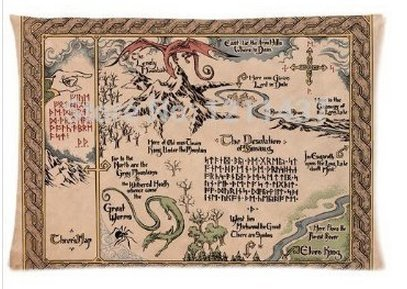The Hobbit Lord of the Rings Home Fantastic Decorative Pillow cover 16x24 Inch two side print customized Zipped pillowcase By Angelinana