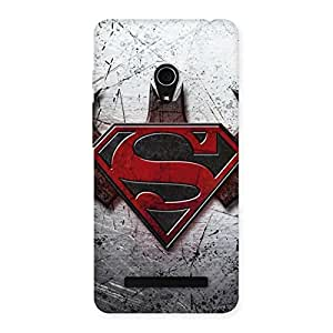 Enticing Day Rivals Back Case Cover for Zenfone 5