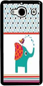 PrintVisa Animal Elephant Cartoon Case Cover for Xiaomi Redmi Note / Note 4G
