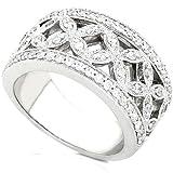 1/2ctw Round Diamond Ring in 14Kt White Gold (GH/I1-I2)