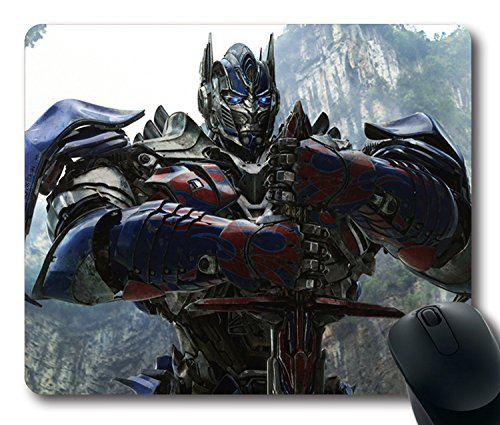 Custom-Gaming-Mouse-Pad-with-transformers-age-of-extinction-autobot-optimus-prime-optimus-prime-head-iron-Non-Slip-Neoprene-Rubber-Standard-Size-9-Inch220mm-X-7-Inch180mm-X-18-Inch3mm-Desktop-Mousepad
