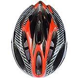 21ベントヘルメット 大人用子ども用 キッズ Aliciga 自転車ヘルメット 軽量 サイクリングヘルメット 調整可能 (レッド)