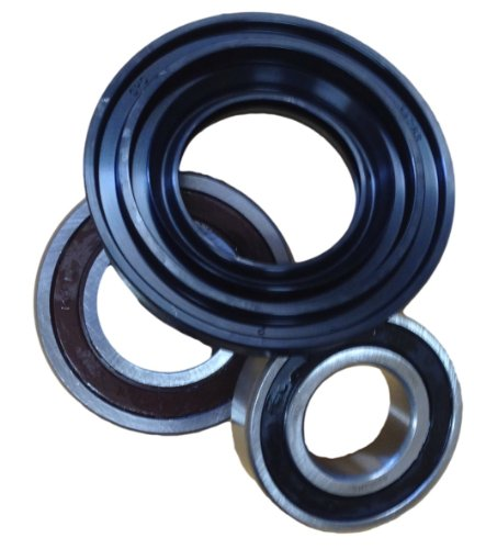 Kenmore Elite, Whirlpool Front Loader Washer Bearings and Seal Kit W10253866, 285983, W10253856, 8181666, AP4426951 (Kenmore Model Washer compare prices)