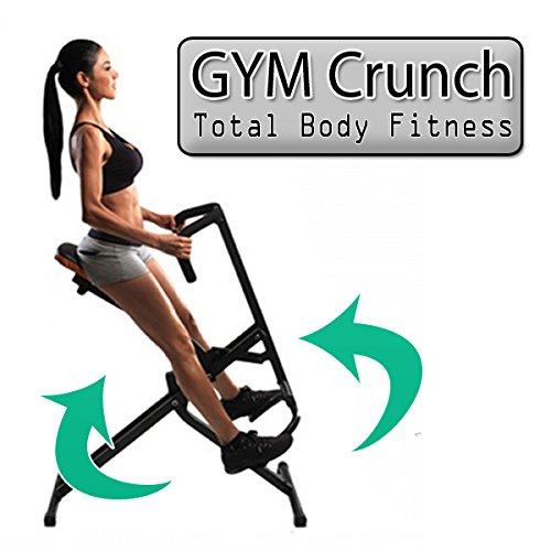 Panca Addominali Total Fitness Attrezzo Power Completi Rider Body Crunch