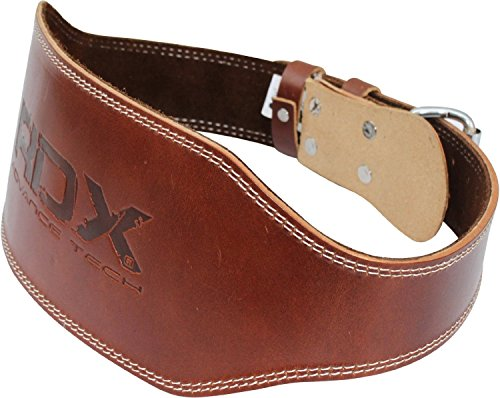 Rdx Cow Hide Leather Weight Lifting 6 Quot Belt Back Support