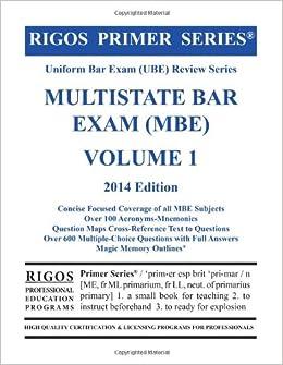 multistate essay exam questions Bar exam resources  multistate bar examination (mbe) mee (multistate essay examination)  multistate bar examination questions.