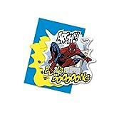 Invitaciones a fiesta, 6unidades, diseño de Spiderman