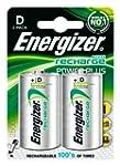 Energizer Nimh D Rechargeable Batteri...