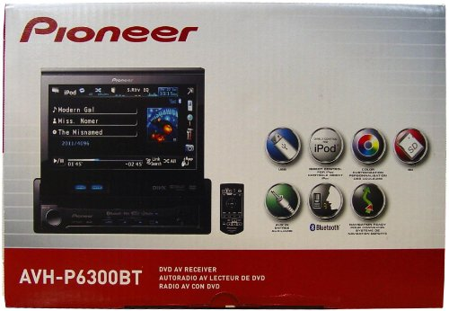 Pioneer AVH-P6300BT 7-Inch In-Dash DVD A/V Receiver