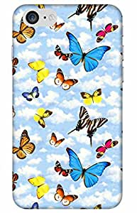 iessential butterfly Designer Printed Back Case Cover for Apple iPhone 7