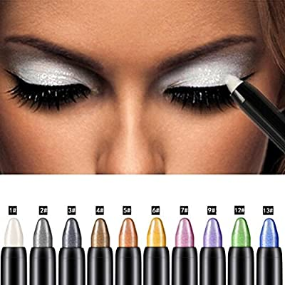 Eyeshadow Pencil, Bestpriceam Big Smokey Eyes Shimmer Eye Shadow Stick Jumbo Eye Shadow Eye Liner Pencil