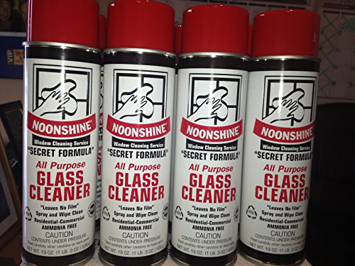 Noonshine All Purpose Foam Spray Glass Cleaner #1 seller Six Cans (Computer Cleaner Foam compare prices)
