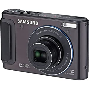 New-Black 12.2MP Camera with 24mm Wide-Angle 5x Optical Zoom and Intelligent 3.0 LCD - Y95538