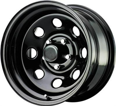 Pro Comp Wheels 97-6883 Series 97, 16x8 with 6 on 5.5 Bolt Pattern - Gloss Black (Pro Comp Series 97 compare prices)