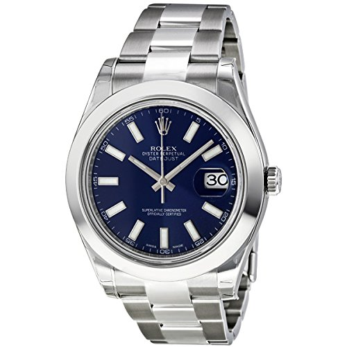 Rolex Datejust II Blue Dial Stainless Steel Automatic Mens Watch 116300BLSO сумка vanguard sydney ii 18bl blue