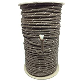 SGT KNOTS Jute Survival Paracord - 300 Feet - Several Colors
