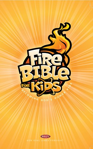 Fire Bible for Kids-NKJV
