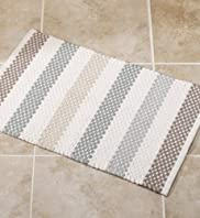 Crochet Chalk Bath Mat [T36-8449M-S]