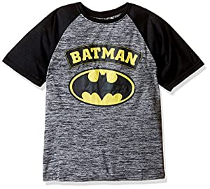 Warner Brothers Boys' Batman Versus Superman Raglan Tee Shirt at Gotham City Store