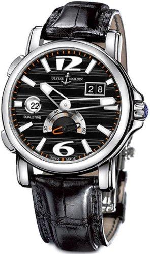 New Mens Ulysse Nardin GMT Big Date Automatic Watch 243-55/62