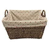 wooden storage basket(heart)