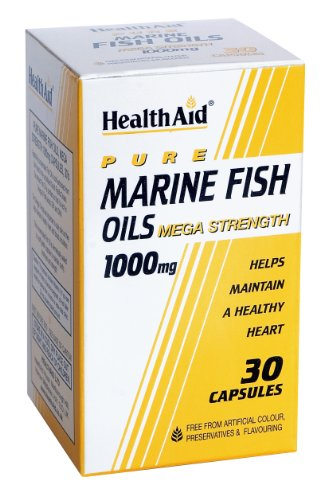 HealthAid Marine Fish Oil 1000mg - 30 Capsules