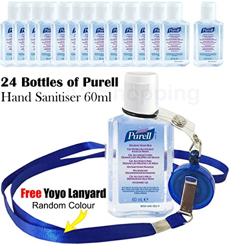 24x-bottles-of-purell-hand-sanitiser-gel-handwash-liquid-dispenser-60ml-flip-cap