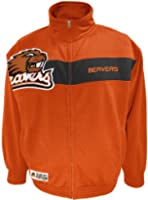 NCAA Mens Oregon State Beavers Victory March Full Zip Jacket by SECTION 101 Majestic