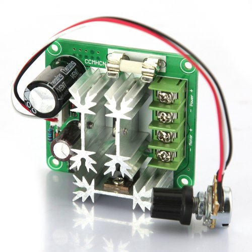 Tabstore 6V-90V 15A 1000W 16Khz Pulse Width Modulated Pwm Dc Motor Speed Regulation Controller 0-100% Duty Cycle Adjustable