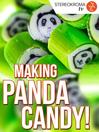 Making Handmade Candy with a Panda Design