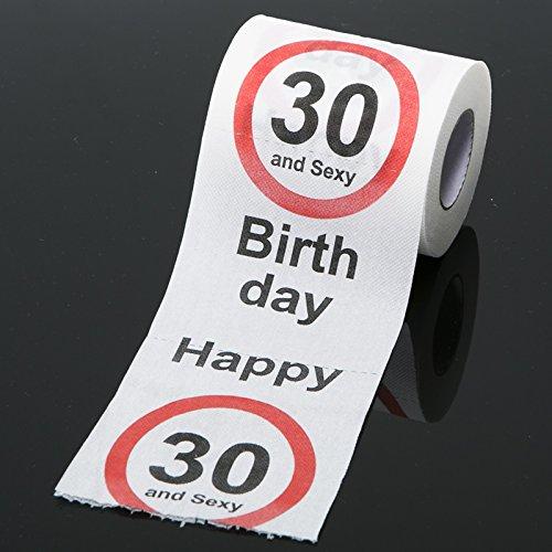 Happy 30 Birthday Toilet Paper