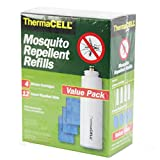 ThermaCELL Mosquito Repellent Refill Value Pack 4 Cartridge 12 Mats 48 Hour