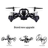 DBPOWER Hawkeye-I 3D Flip 2.4GHz 4CH 6 Axis RC Quadcopter Drone with 2MP HD Camera for Beginner